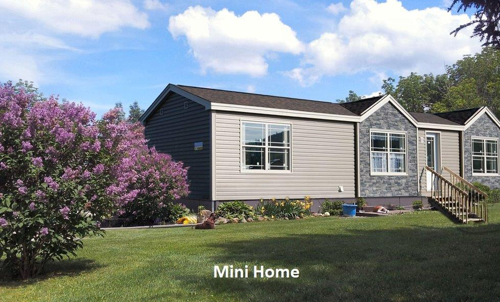 5 Mini Home with different exterior