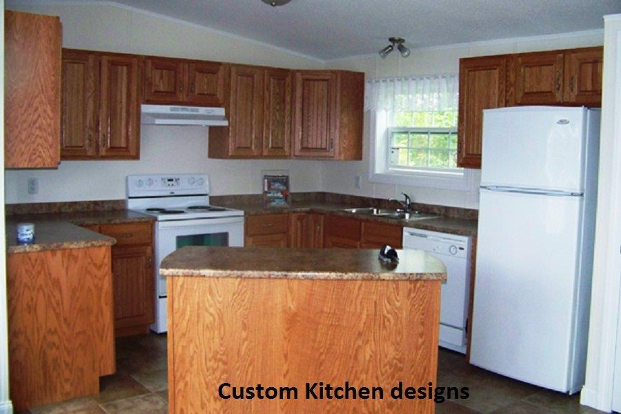 8 Mini Home Custom kitchen design