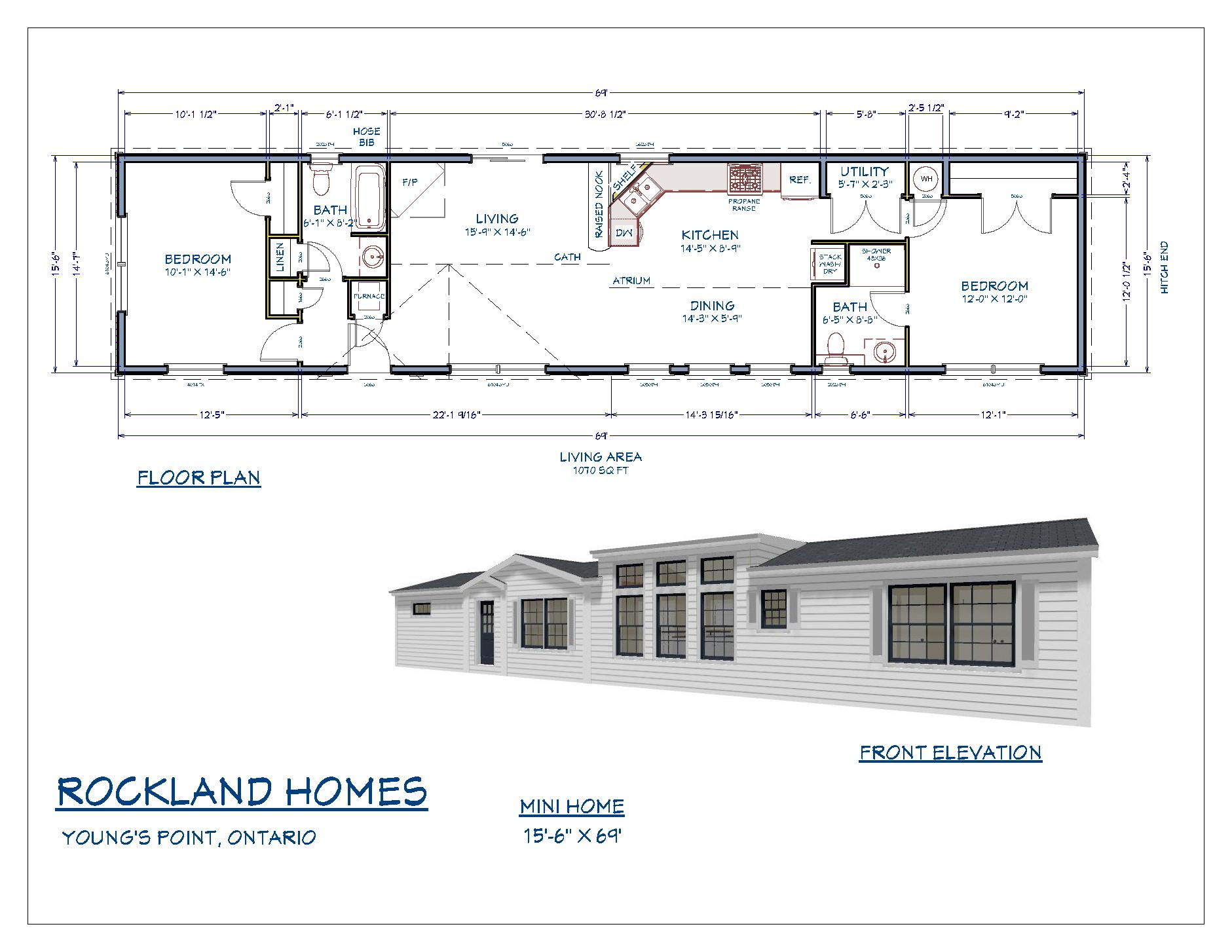 Model Home Floor Plan